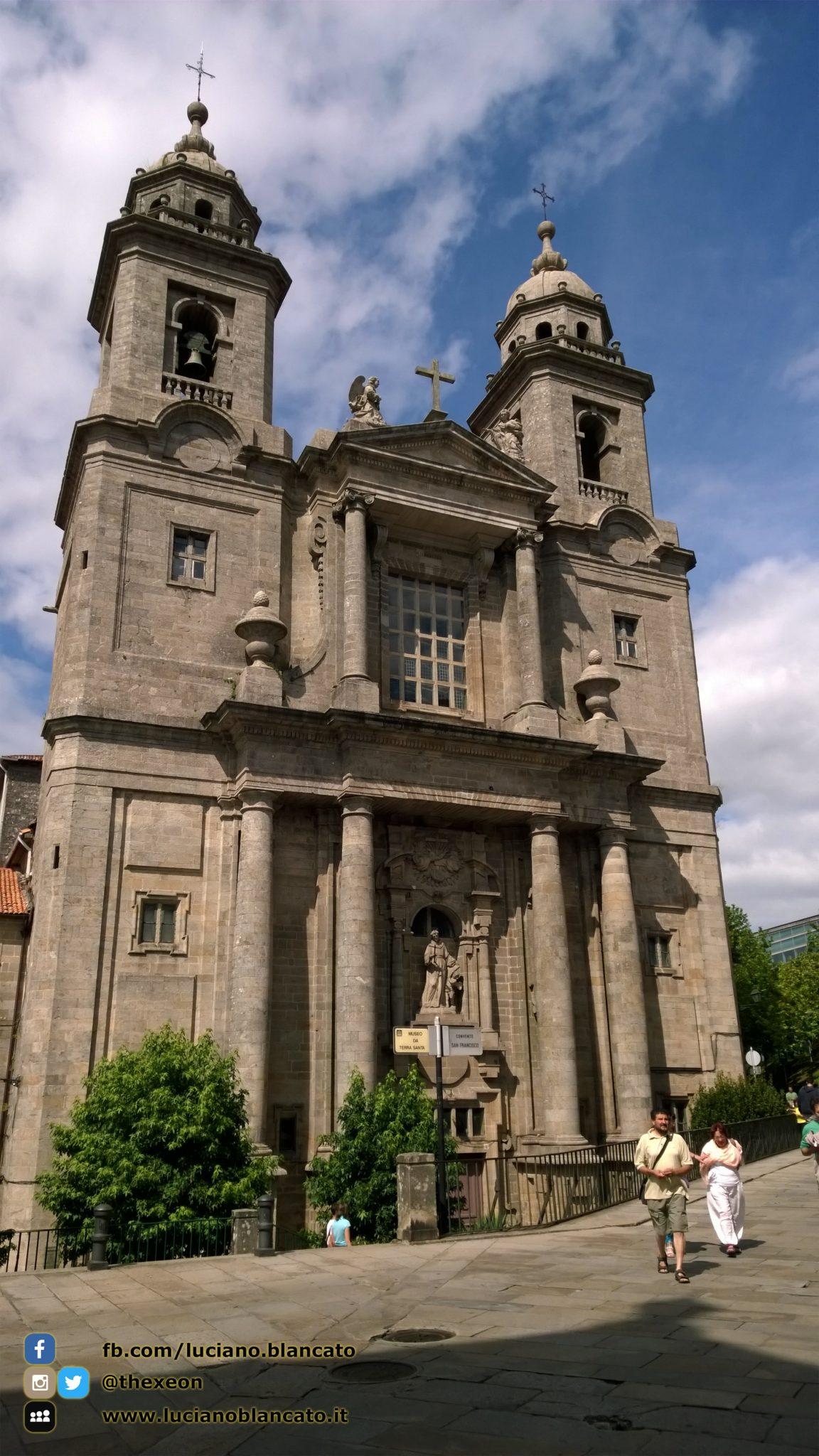 Santiago de Compostela - facciata chiesa