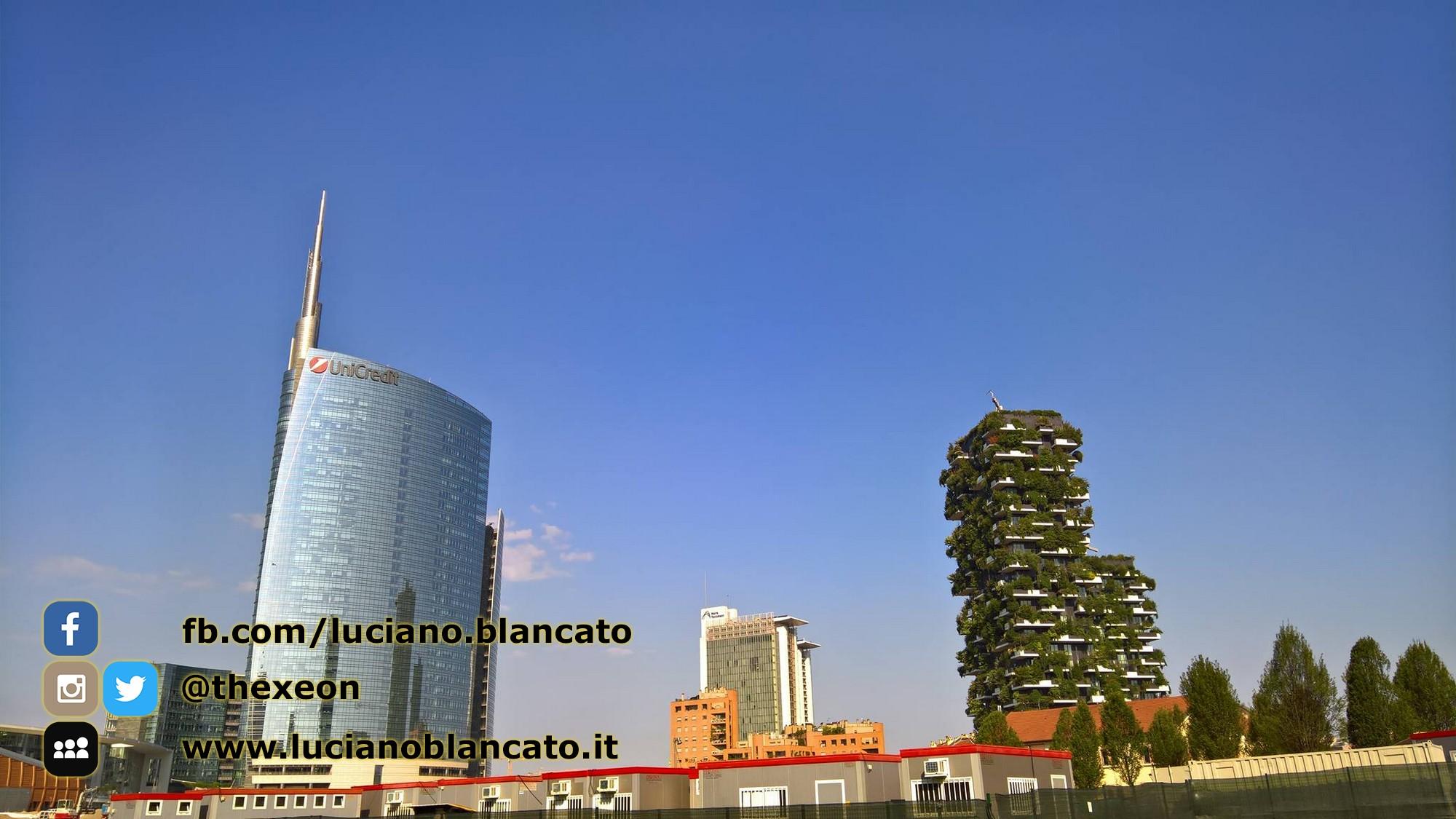 Milano - Unicredit Tower e giardino verticale