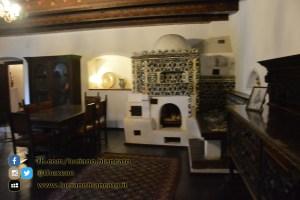 Bucarest - Castello di Bran - Cucina e forno