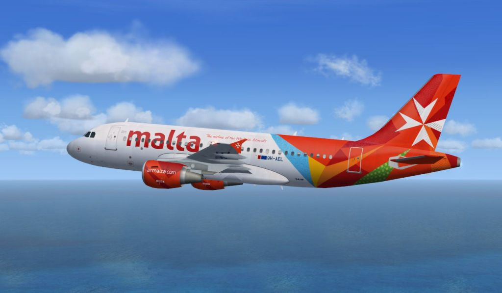 Air-Malta airbus