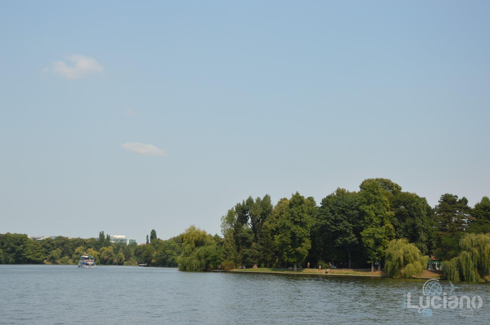 Lacul Herăstrău, Bucarest, Romania