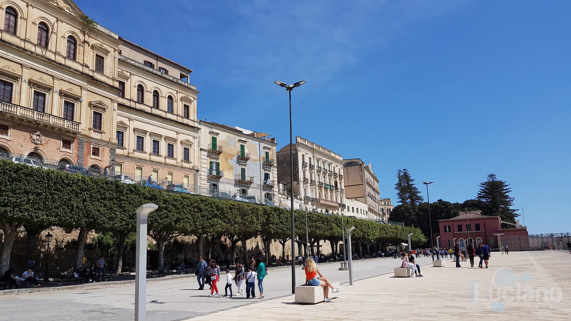 Foro Vittorio Emanuele II - Ortigia - Siracusa