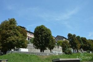 In giro per Feltre - zona Duomo - Veneto