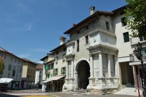 In giro per Feltre - Porta Castaldi - Veneto