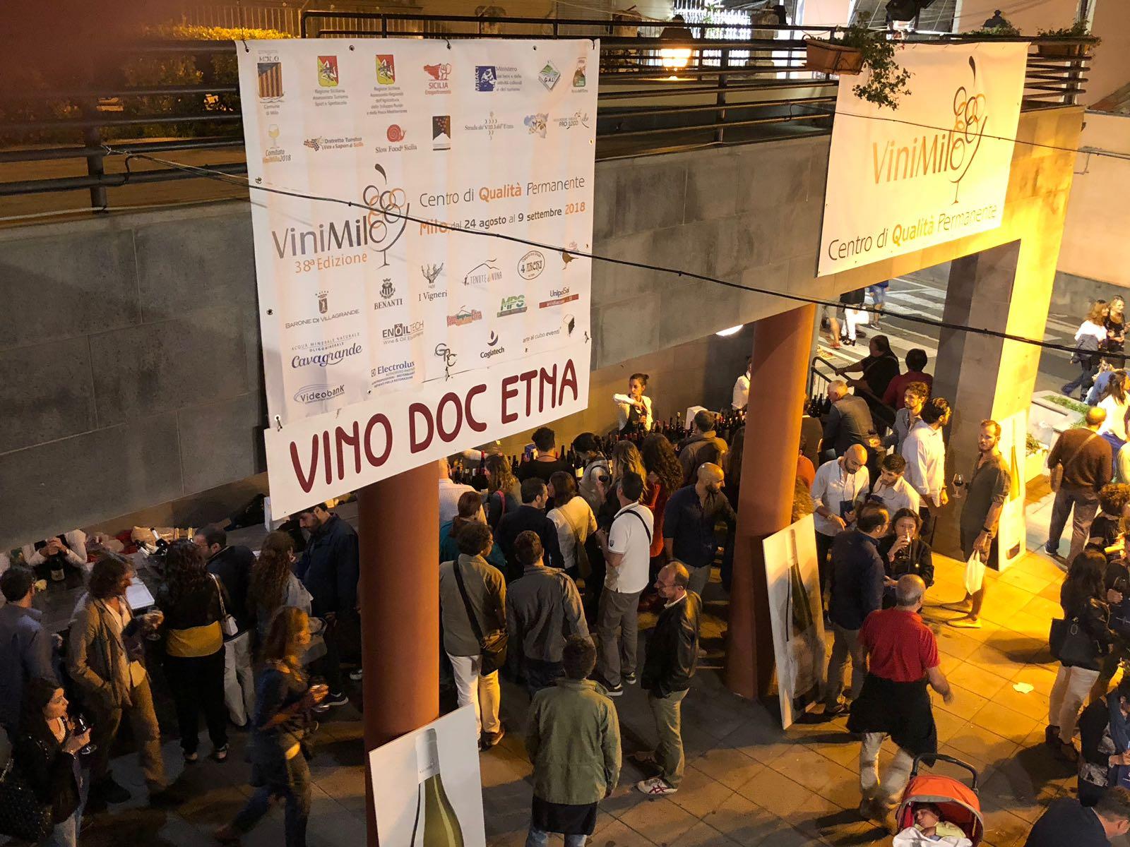 #VINIMILO2018, Enoteca (oltre 100 etichette DOC Etna)