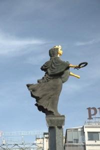 Saint Sofia Monument Статуята на София - Sofia - Bulgaria