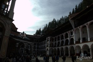 Cortile interno Monastero di Rila, Рилски Манастир, Rilski Manastir - Sofia - Bulgaria