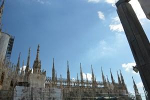 Il Duomo di Milano, visto dalla terrazza della Rinascente - Lombardia - Italia