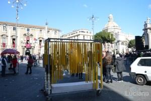 bancarella ceri per Sant'Agata, durante i festeggiamenti per Sant'Agata 2019 - Catania (CT)