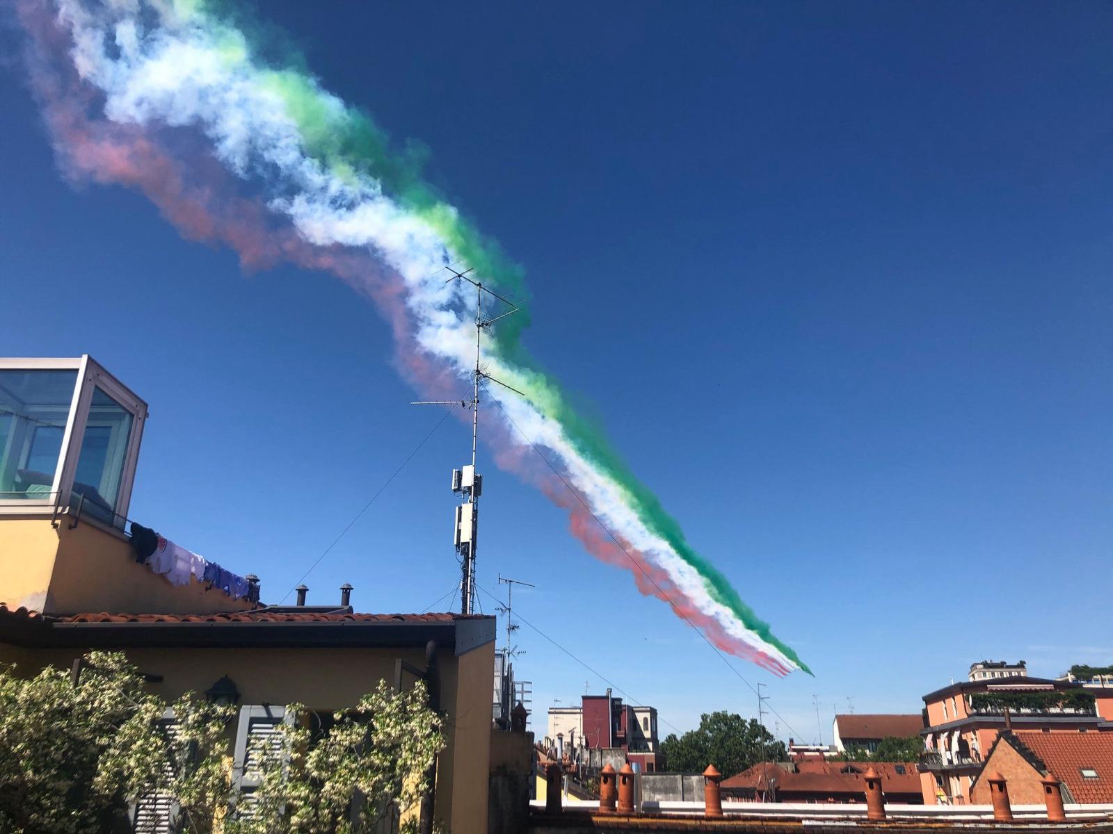 Il giro d'Italia delle Frecce Tricolori - Milano