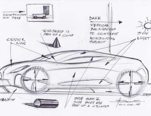 Car design is: starting from scratch or from a technical