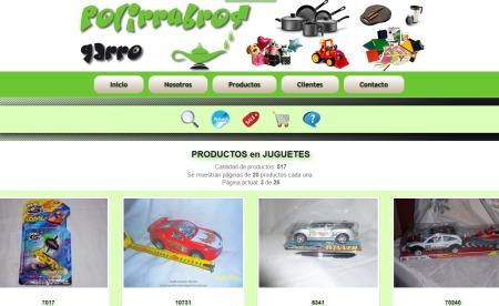 Nuevo web Polirrubros Garro