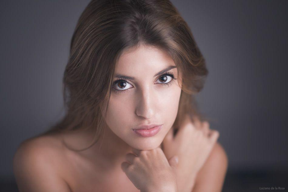 Fotografa de retrato y belleza  Luciano de la Rosa