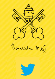 A Twitter account for the Pope