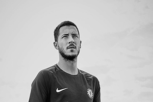 Eden Hazard for Nike