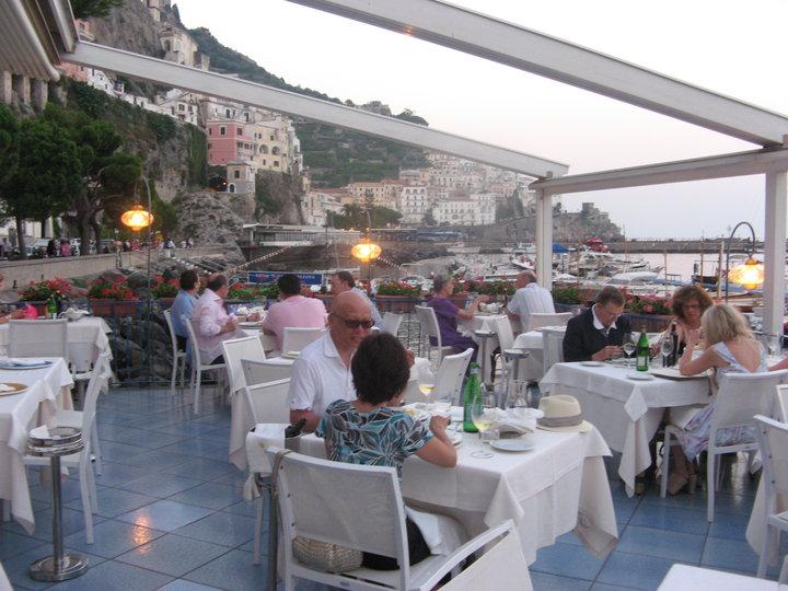 Amalfi ristorante Lido Azzurro e cinque ricette  Luciano