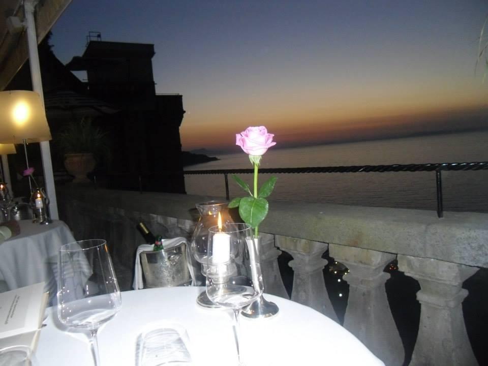Sorrento Grand Hotel Excelsior Vittoria e la cucina di Luigi Tramontano a Terrazza Bosquet