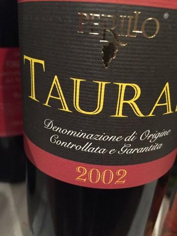 Taurasi 2002 docg Perillo  Luciano Pignataro WineFood Blog