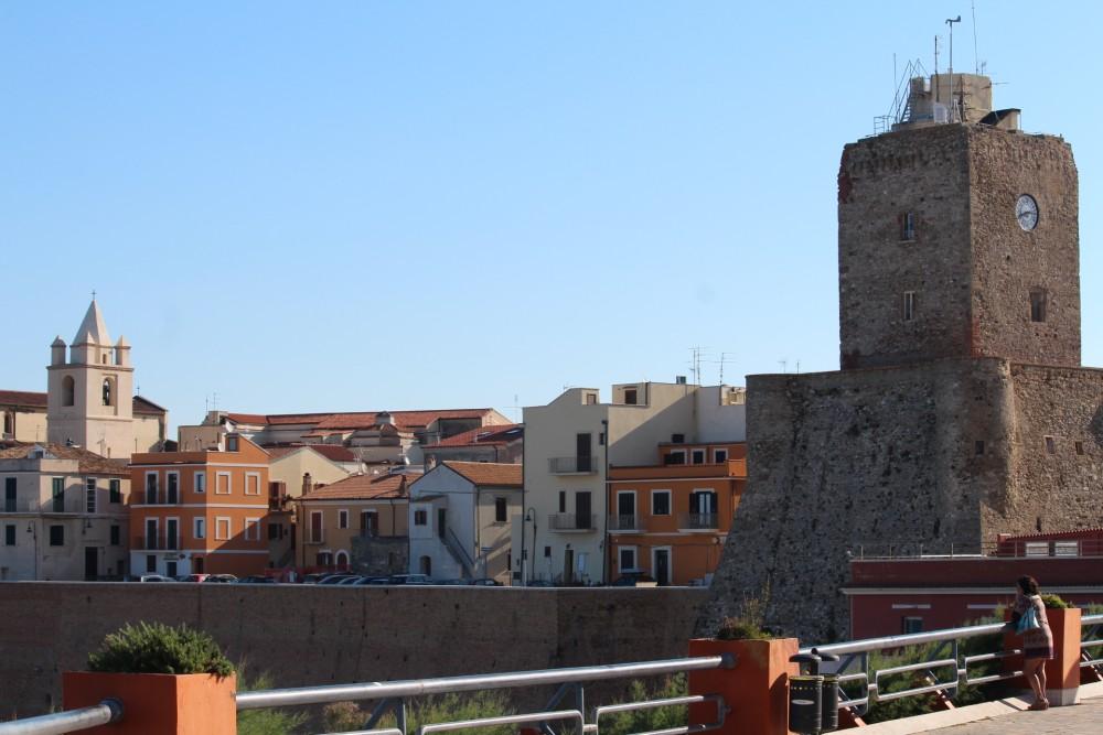 Osteria Dentro le Mura - veduta di Termoli borgo vecchio