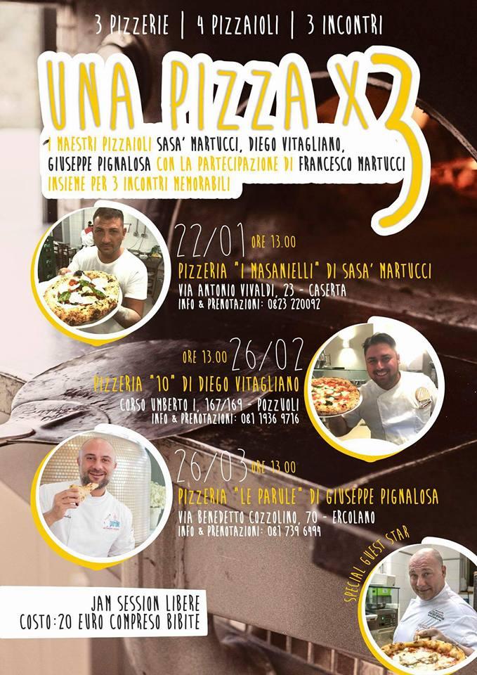 MartucciMartucci Pignalosa e Vitagliano una pizza per tre Jam session a canotto  Luciano