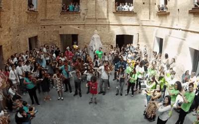 Bolero di Ravel – Flashmob a San Paolo in Brasile