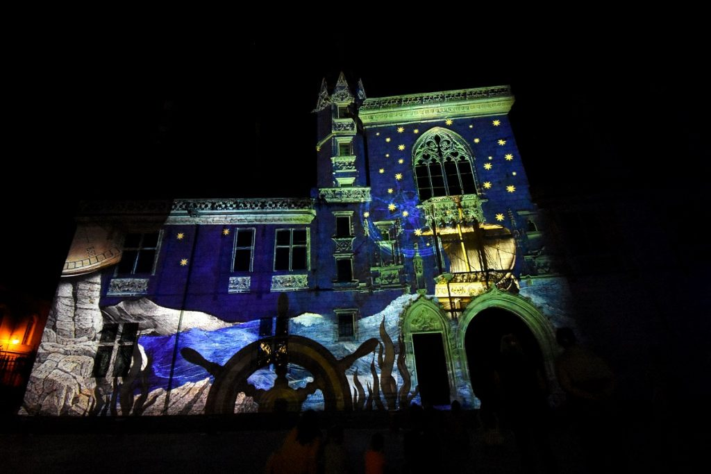 bourges nuits lumiere lighting event