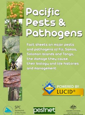 Pacific Pests and Pathogens Lucid mobile app splash screen