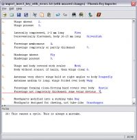 Lucid Phoenix Builder paper key importer error checking
