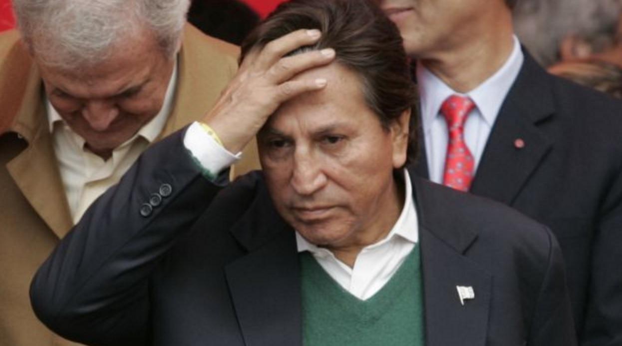 Fiscal presentó requerimiento de extradición del expresidente Toledo