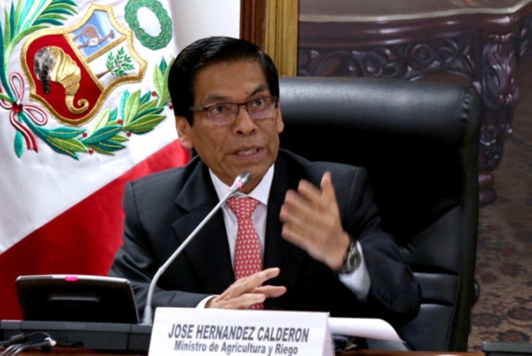 Interpelación será oportunidad para explicar el trabajo — Ministro de Agricultura