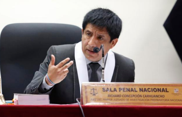 Juez Concepción Carhuancho ya no trabajará en caso Odebrecht