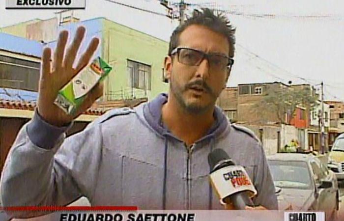 Corte Suprema ordena su captura y encarcelamiento — Edu Saettone