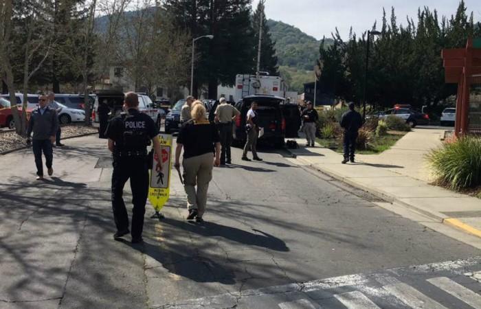 Reportan tiroteo y toma de rehenes en hogar para veteranos de California