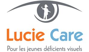Logo de Lucie Care - Pour les jeunes déficients visuels
