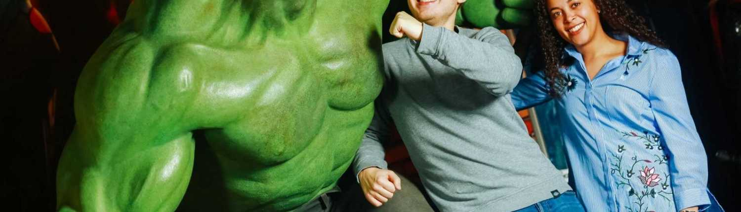 Madame Tussauds Amsterdam - The Hulk