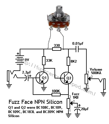 fuzz face wiring diagram doctor tweek v2 electron transport chain with explanation pnp 3pdt data oreoindex of