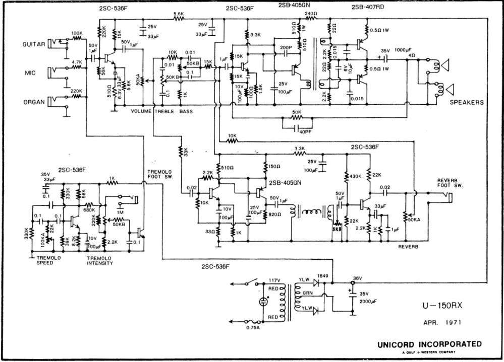 medium resolution of univox amp schematic wiring diagram todaysunivox amp schematic simple wiring diagram gibson falcon amp schematic need