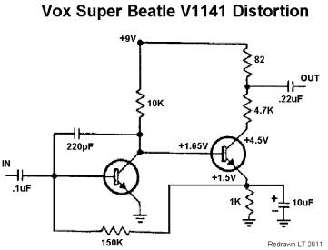 Vox Beatle Schematic DoD Schematic ~ Elsavadorla