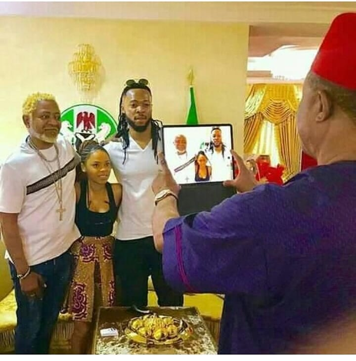 Awilo Logonmba, Chidinma, and Flavour Nabania visit Willie