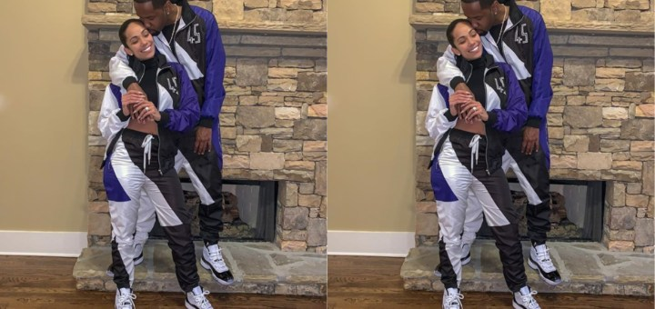 Love & Hip Hop couple Erica Mena and Safaree rock Matching Tracksuits in new Loved-up Photo