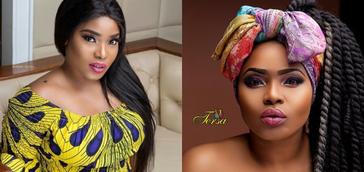 Halima Abubakar forgets to switch Accounts while Commenting on own Post