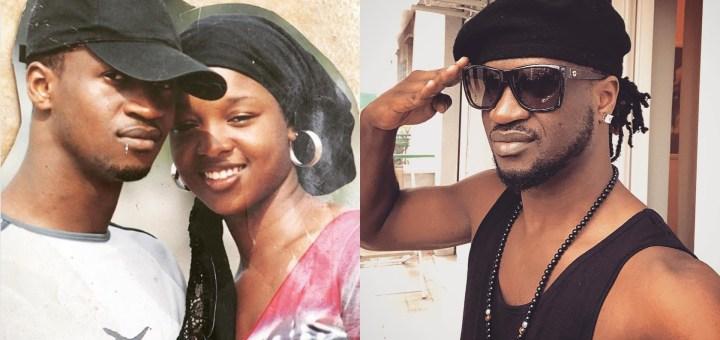 Throwback Photo of Paul Okoye and Anita Isama Okoye taken in University of Abuja