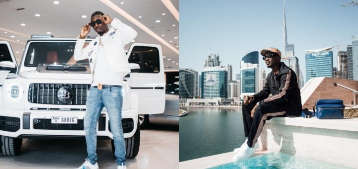 Meet Mr WoodBerry: Another Nigerian Big Boy Living Large In UAE (Photos)