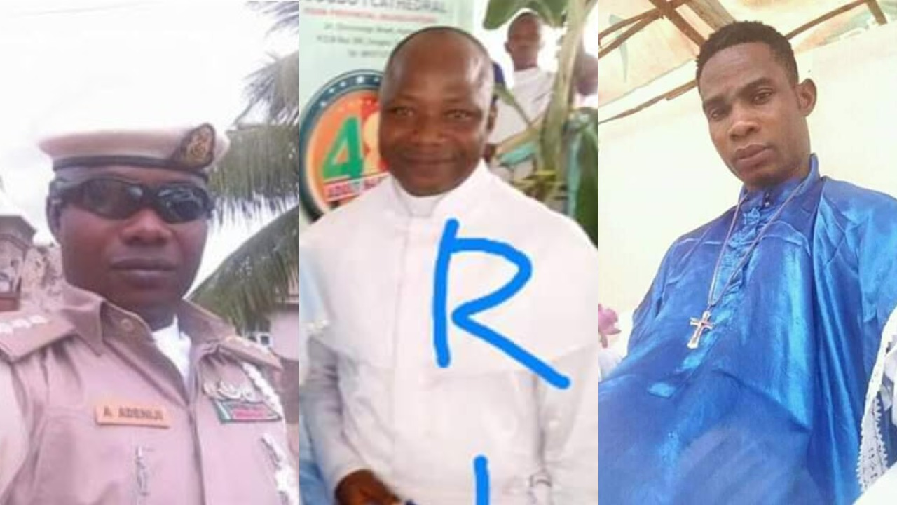 Image result for images of Photos of the two church members electrocuted during service in Osogbo