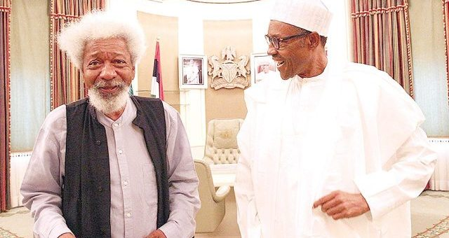 """""""I salute you for your Intellectual Momentum and Interventions on State Issues"""" - President Buhari's message to Wole Soyinka on his 85th Birthday"""