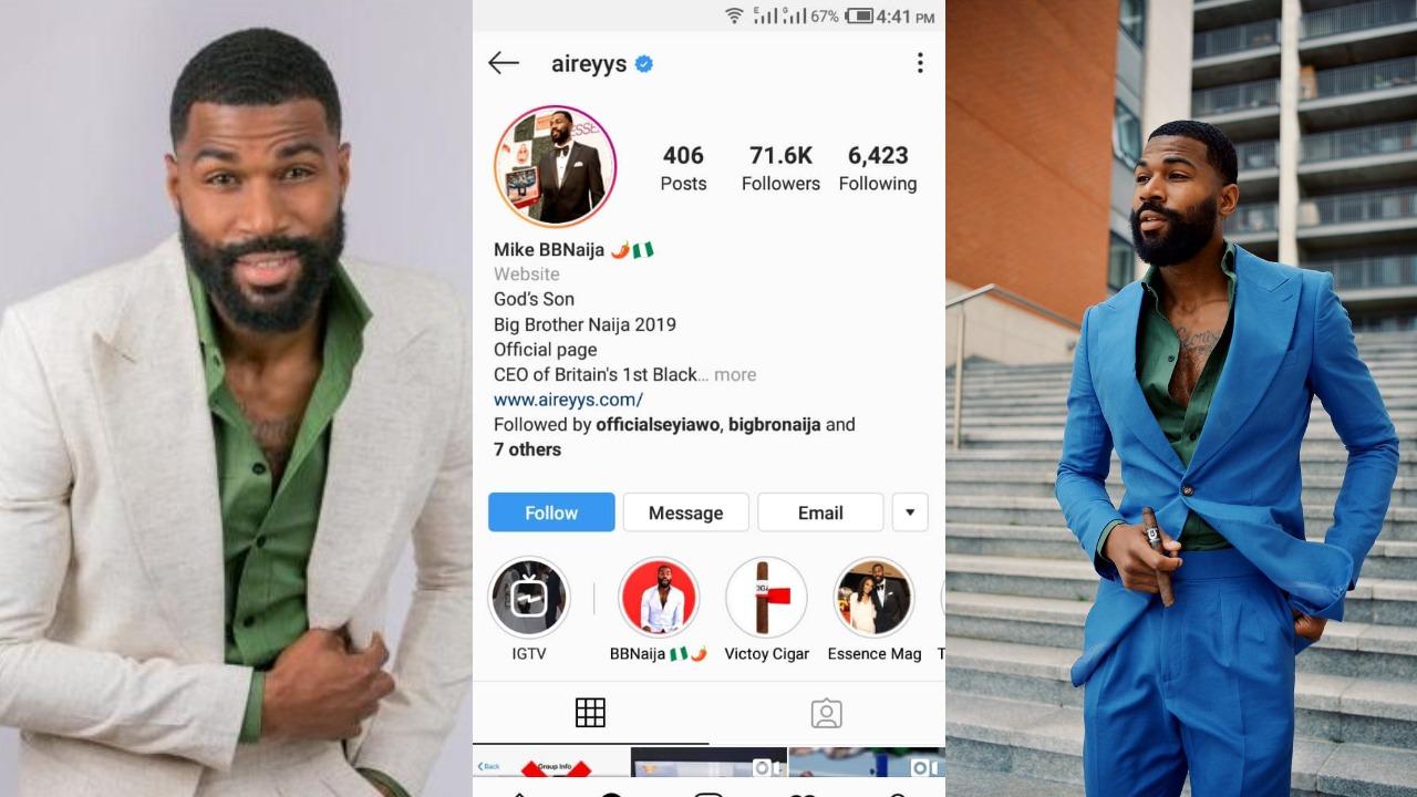 BBNaija 2019: Big Brother Nigeria Housemate, Mike Edwards