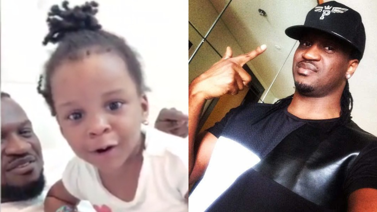 Lovely Video of Paul Okoye's daughter singing one of his Songs