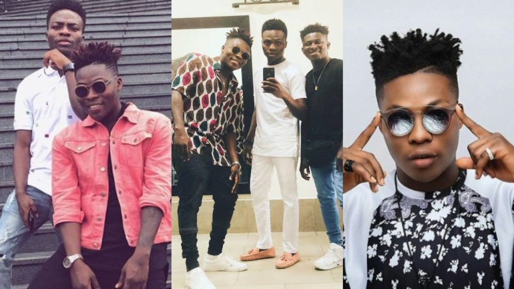 Singer Reekado Banks explains why he dropped his elder brother Temi Solomon as his Manager