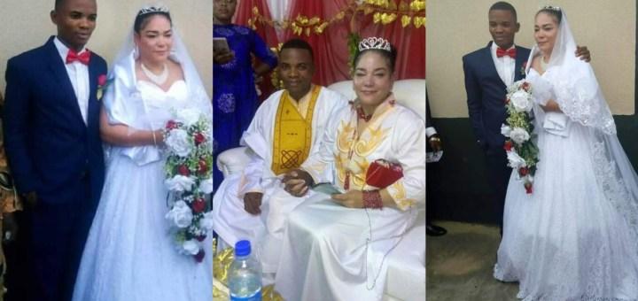 Nigerian Man Weds American Lady In Akwa Ibom (Photos)