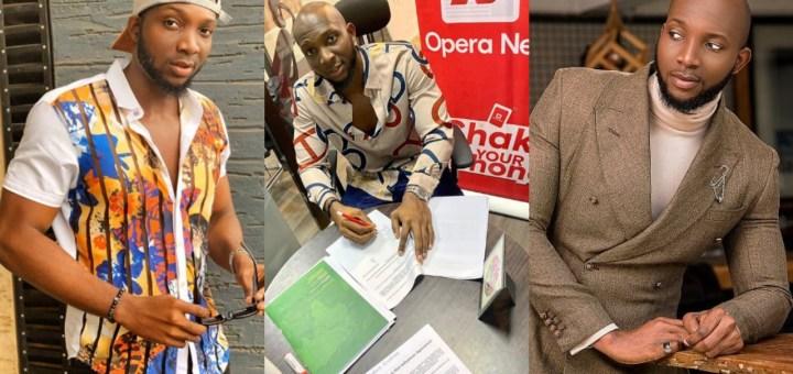 #BBNaija's Tuoyo becomes ambassador of 'Opera News'